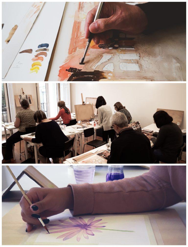 escola de pintura