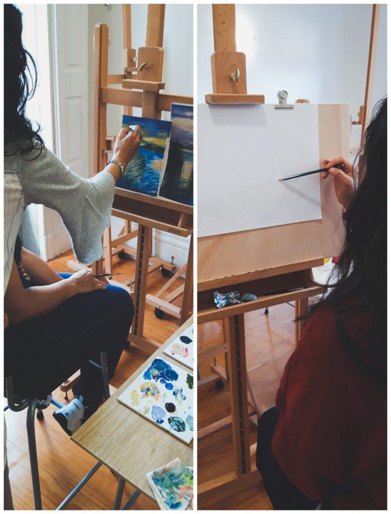 aulas de pintura porto